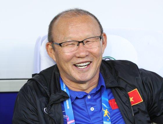 박항서 베트남 축구대표팀 감독. [뉴스1]