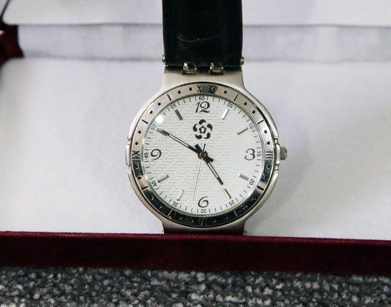 변수남 부산소방본부장의 청와대 경호실장 시계