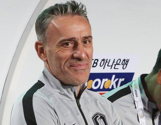 파울루 벤투 축구대표팀 감독. [연합뉴스]